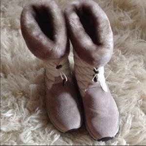 NWOT LL Bean Suede/Nylon Boots SZ 7
